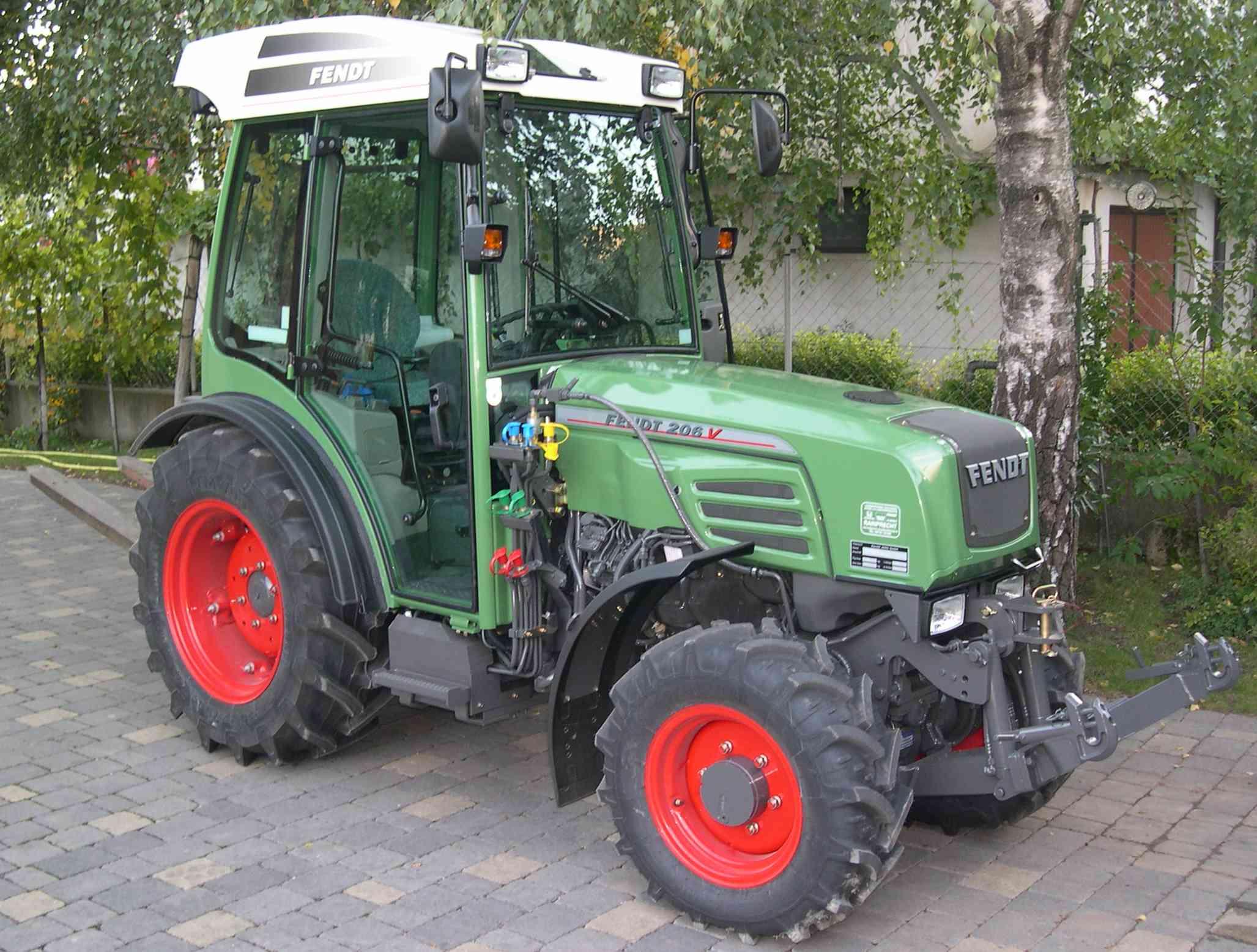 Der neue Traktor ist da!